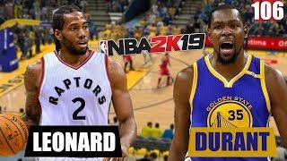 Кевин Дюрант vs Кавай Леонард в NBA 2K19   Smoove x Max Black