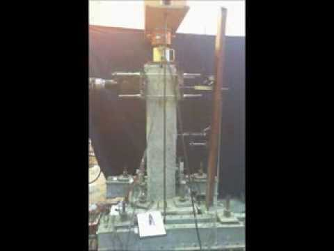 Copy Of Testing Of Rehabilitated Corrosion Damaged Concrete Column