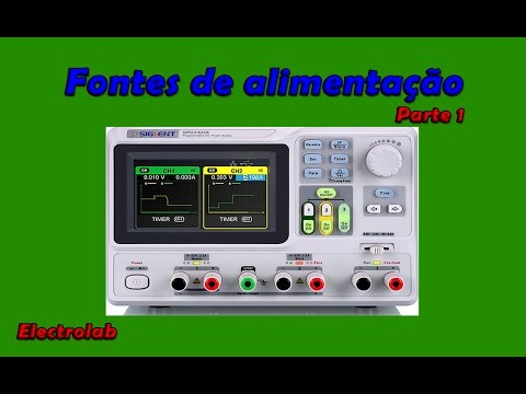 Fontes de alimentação - Power Supply - Parte 1