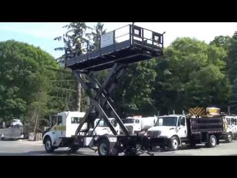 109 Kenworth Scissor Lift Truck Youtube