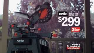 Ozito Multicut Mitre Saw - Available At Bunnings