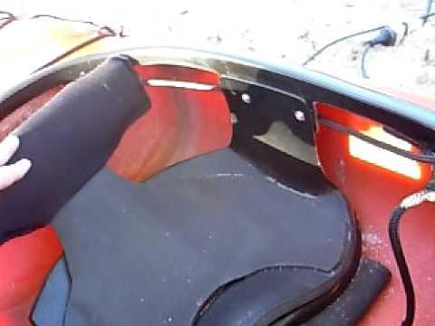 Ri onera para kayak youtube for Sillas para kayak