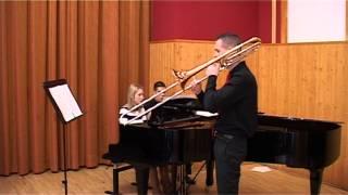 Launy Grondahl Trombone Concerto: Moderato Assai ma molto maestoso