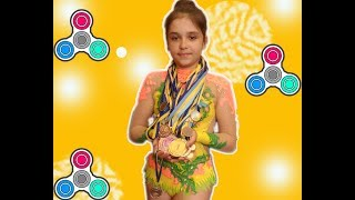 НОВЫЙ ЧЕЛЛЕНДЖ  ГИМНАСТИКА ПРОТИВ СПИННЕРА Спортивное Видео Для девочек