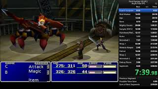 Final Fantasy VII PC Any%  02:55:59.38