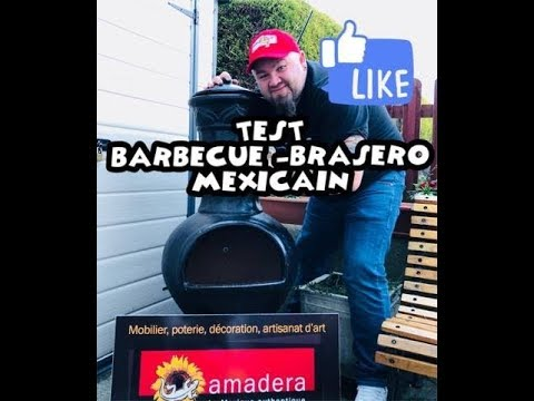barbecue brasero mexicain test youtube. Black Bedroom Furniture Sets. Home Design Ideas