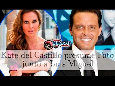 Kate del Castillo presume Foto junto a Luis Miguel