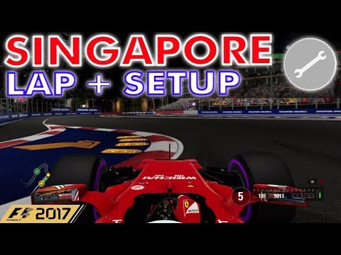 F1 2017 - Singapore Hot Lap + Setup (1:36.614)