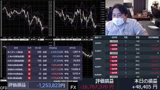 爆損FXライブ配信、IPOしたコインベース株買って事故った(;ω;)