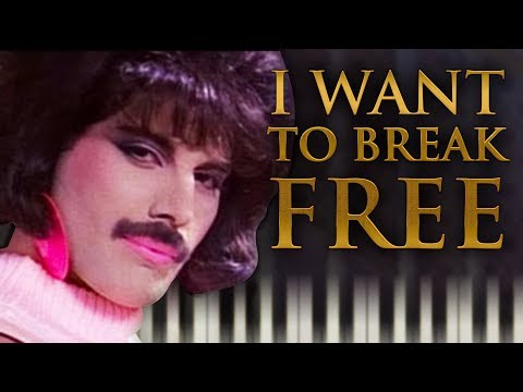 queen---i-want-to-break-free---piano-tutorial