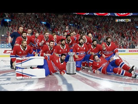 NHL 18 - Montreal Canadiens Stanley Cup Celebration