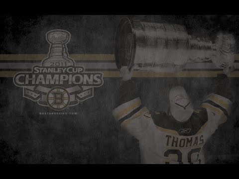 Boston Bruins 2011 Stanley Cup Champions