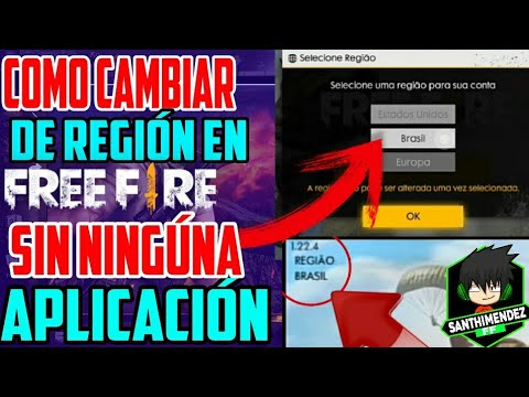 como cambiar de region en free fire