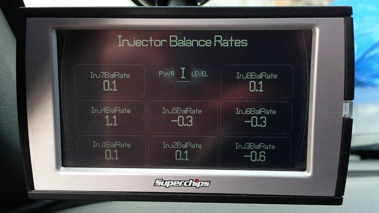 2002 lb7 duramax injector balance rates
