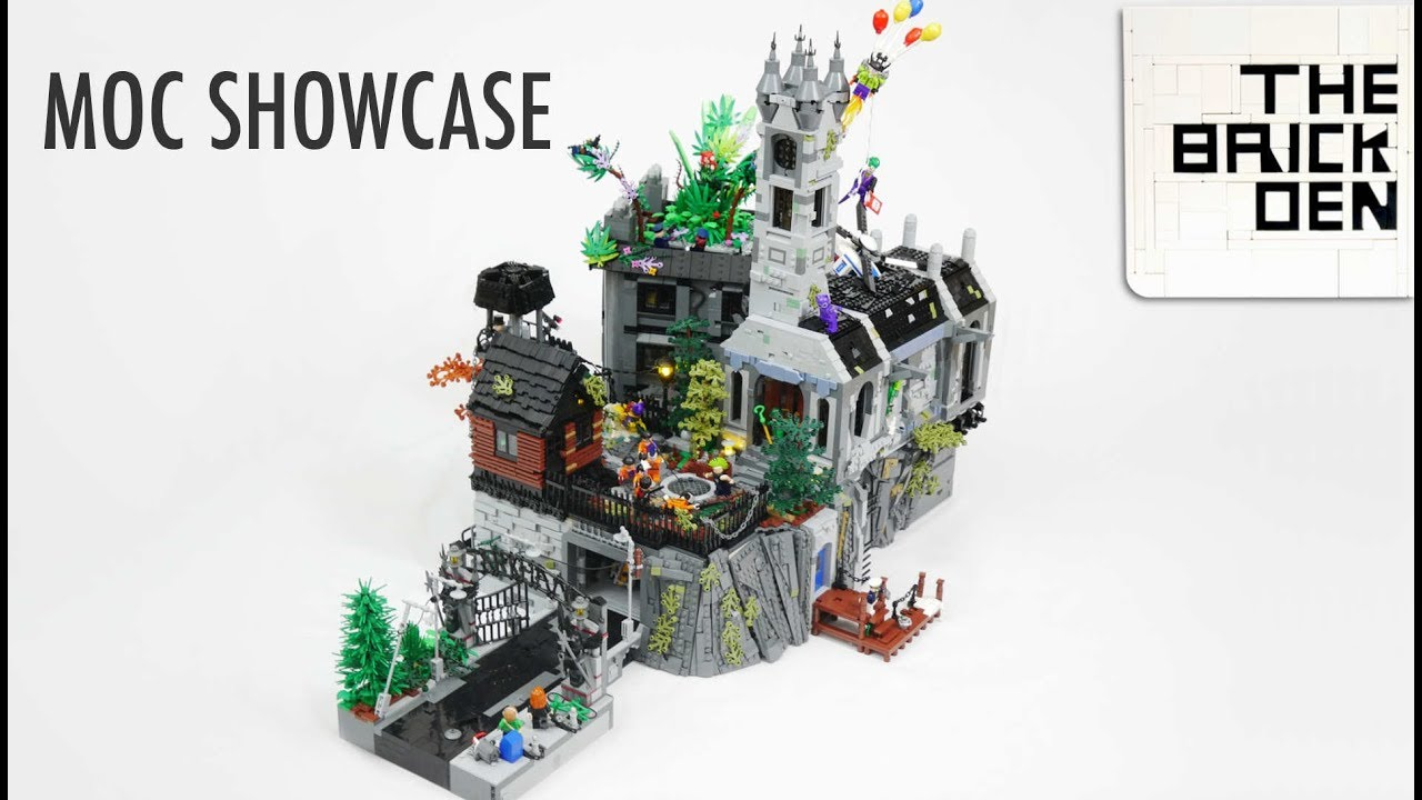 lego arkham asylum moc moc showcase youtube