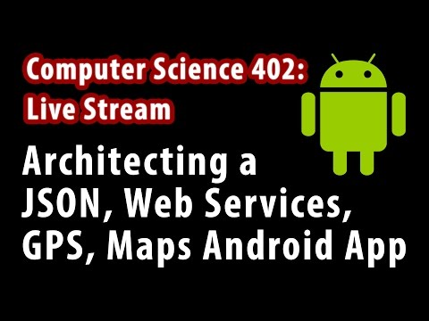 Architecting a Web Services JSON Location Based Android App using Volley, EventBus