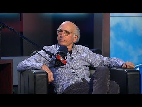 Larry David spell-checks Charissa Thompson