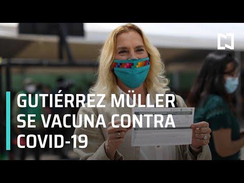 Gutiérrez Müller recibe vacuna contra Covid-19 - Paralelo 23