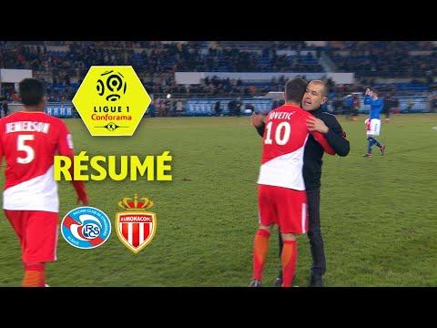 RC Strasbourg Alsace - AS Monaco (1-3)  - Résumé - (RCSA - ASM) / 2017-18