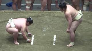 20180503 大相撲夏場所稽古総見 関脇 逸の城 嘉風.