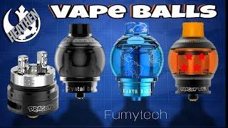 Vape Balls! Dragon Ball, Crystall Ball & Earth Ball RTA/RDA I Fumytech I Heathen