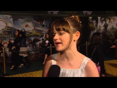 Joey King - The Great and Powerful - HD Interview PART 1