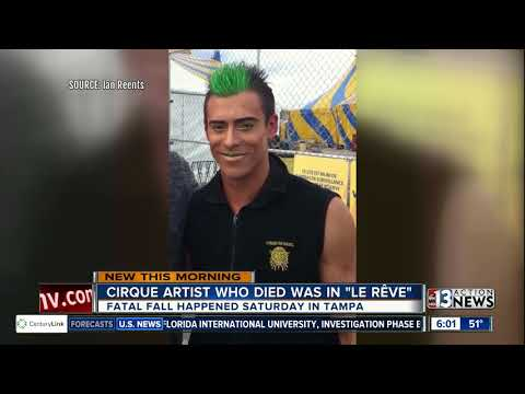 Cirque aerialist who died in Tampa a former 'Le Reve' performer
