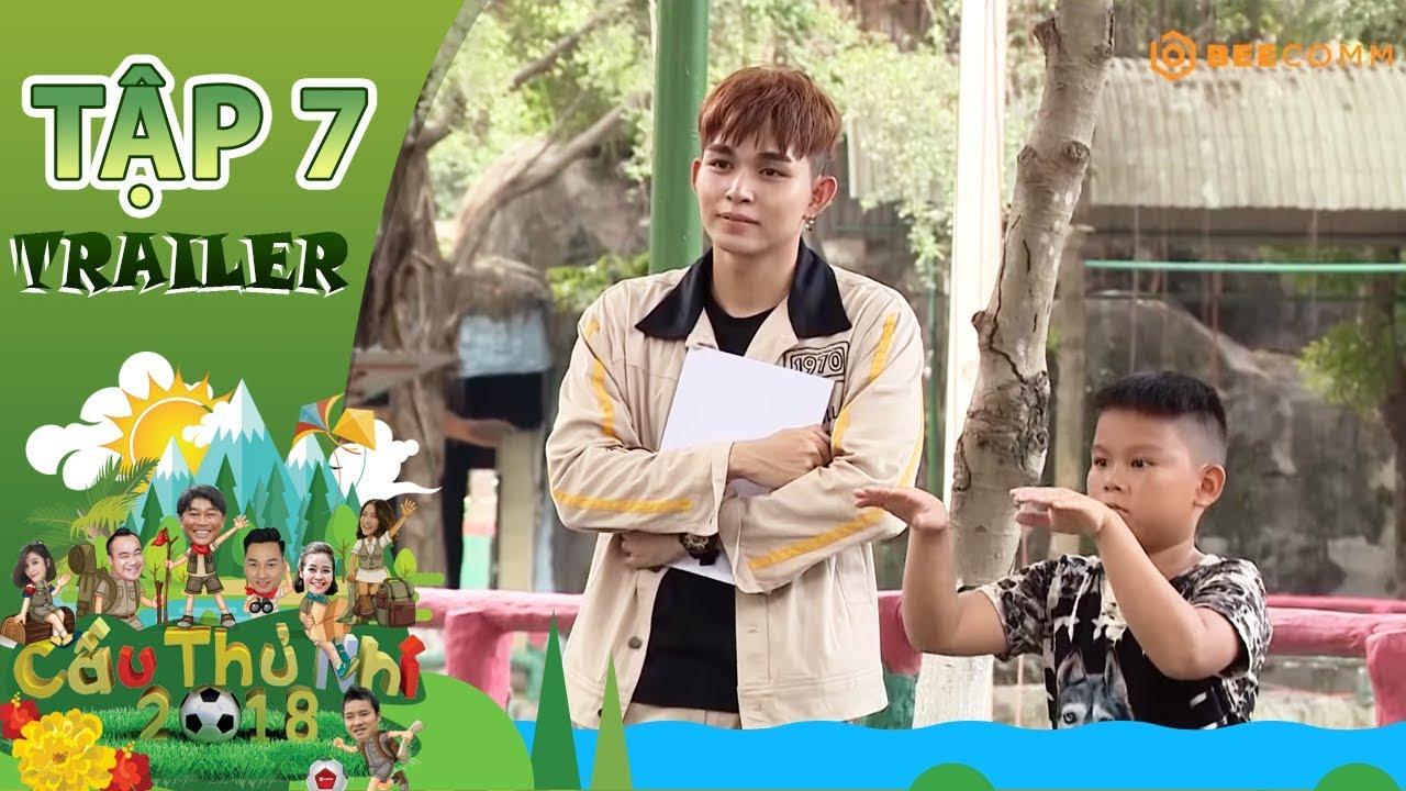 Cầu Thủ Nhí 2018 | Trailer Tập 7 | Jun Phạm ôm bụng cười vì sự ngô nghê của các cầu thủ nhí