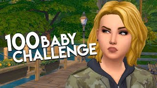 COWPLANT FUN-ERAL // The Sims 4: 100 Baby Challenge #136