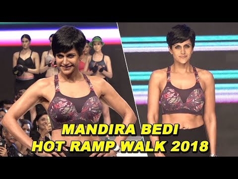 Triumph India Fashion Show 2018 | Mandira Bedi As Showstopper | Uncut Video