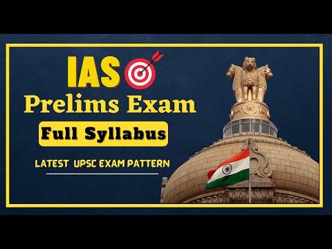 UPSC IAS Prelims Exam Full Syllabus | Latest UPSC Exam Pattern | Prabhat Exam