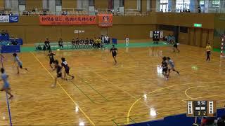 2018IH 女子ハンドボール1回戦 山陽(広島県) 対 明光学園(福岡県)