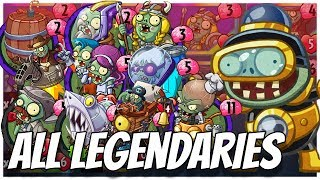 ALL Legendary Cards Challenge Impfinity Strategy Deck Plants vs Zombies Heroes Gameplay 6 22