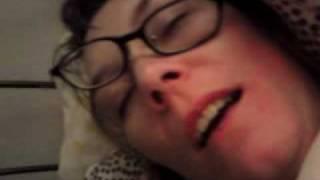 Sleeping mom