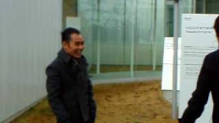 11月21日10時30分~、十和田市現代美術館。 日本テレビ系の東北...