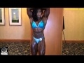 Monique Jones After Winning the 2010 IFBB North American Womens Overall!