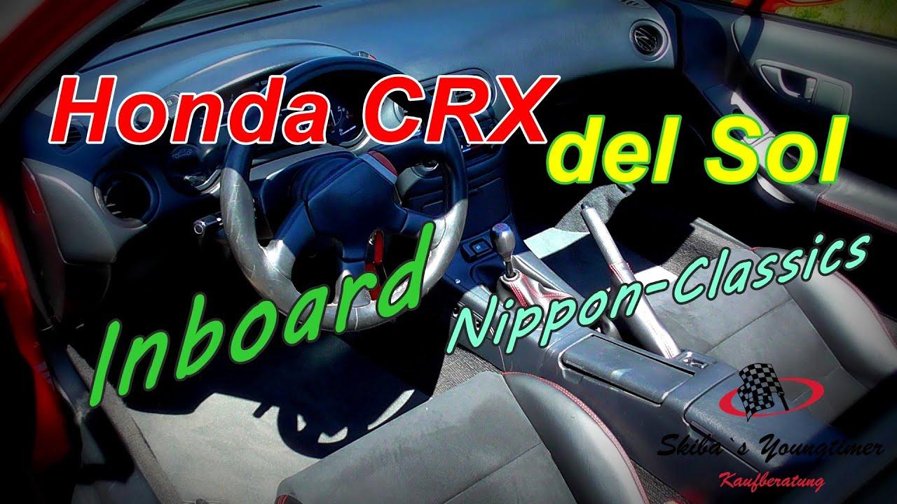 Honda CRX del Sol ESI    I   ein Fahrbericht