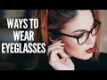 STYLING EYEGLASSES - MAKE UP , HAIR AND OUTFITS