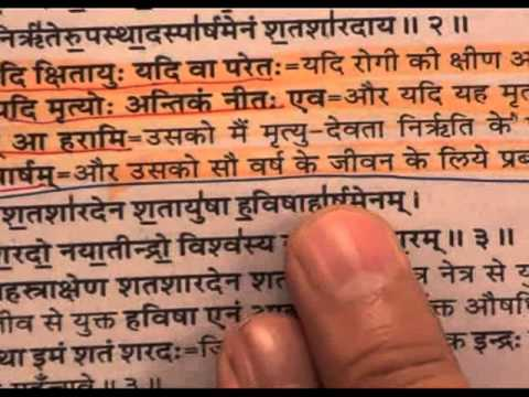 Vedas - God Increases Age