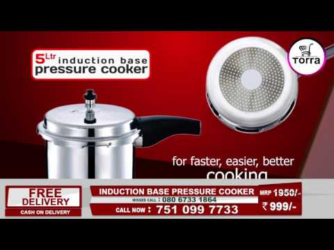 Torra Induction Base Pressure cooker(5L)