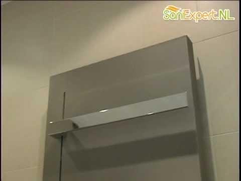 kermi fedon handdoekbeugel 45 5cm youtube. Black Bedroom Furniture Sets. Home Design Ideas