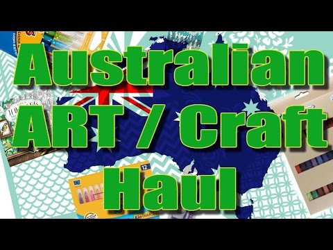 Australian Art & Craft Haul