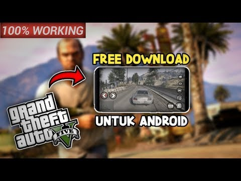 GRATIS!! Cara Download Gta V Di Hp Android 2020 | How To Download Gta V In Android