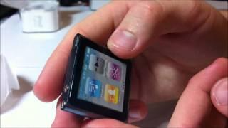 Обзор iPod Nano 6-го поколения на 8Гб(, 2011-11-21T21:41:18.000Z)
