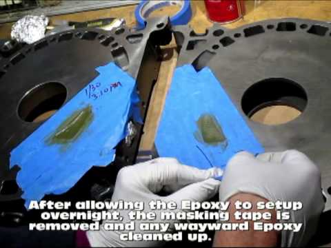 Epoxying the Intake Ports on a Mazda 12A Peripheral Port Rotary