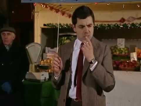 Mr  Bean conducting God Rest Ye Merry Gentlemen