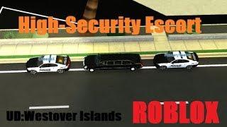 ROBLOX - UD Westover Präsident Escort!!