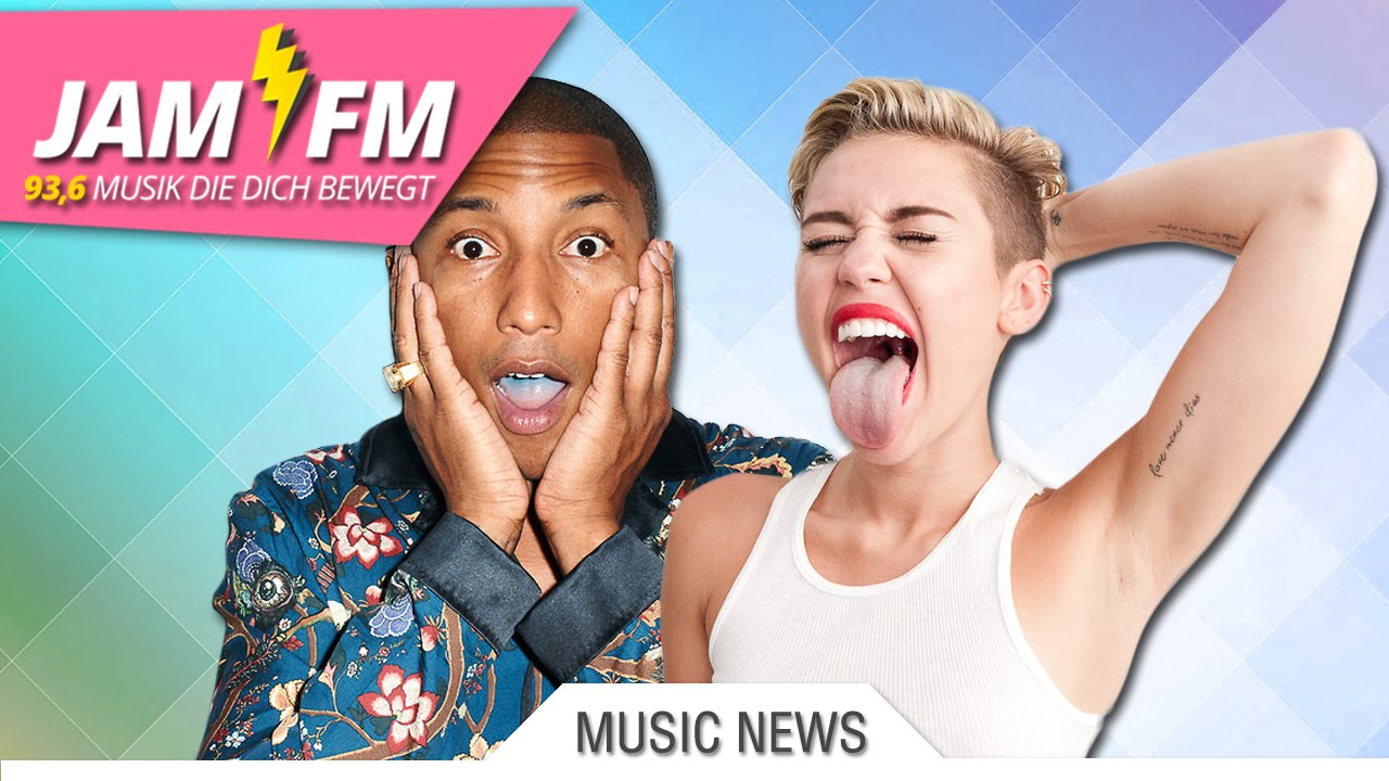 MUSIC NEWS: PHARRELL WILLIAMS FEAT. MILEY CYRUS - COME GET IT BAE