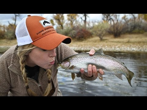 How to clean gut a trout