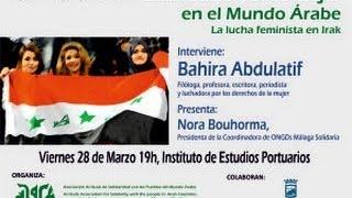 "Bahira Abdulatif ""La lucha feminista en Iraq"""